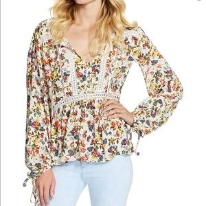Jessica Simpson Sancia Peasant Top